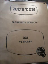 CLASSIC AUSTIN J2/152 COMMERCIAL WORKSHOP MANUAL.PETROL.97H 1383 C.FACTORY/BMC.