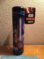Star Wars Talking BLUE Lighted LIGHTSABER TOOTHBRUSH Kids Bath Set COLLECTOR TIN