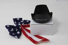 62mm Tulip Flower Lens Hood for DSLR Sony Alpha 18-135mm f/3.5-5.6 DT