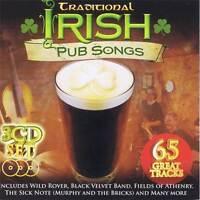 Traditional Irish Pub Songs 65 Great Tracks Box Set Audio CD Various Music