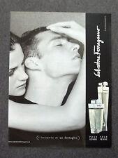 F724-Advertising Pubblicità- 2000 - SALVATORE FERRAGAMO POUR HOMME POUR FEMME