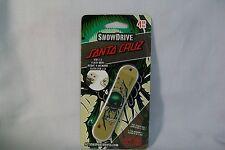 SnowDrive 4GB USB 2.0 Flash Drive Santa Cruz Green Skull Spider Snow Board *New