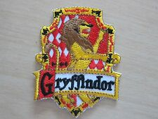 Harry Potter House GRYFFINDOR embroidered Iron on Patch Crest Badge High Quality