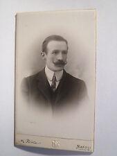 Napoli - Neapel - 1908 - Herr W. Gaetz - Portrait / CDV