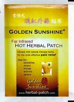 Far Infrared Hot Herbal Patch by Golden Sunshine