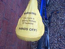 Giù le mani BICI COPRISELLA. aiuta a mantenerlo pulito e asciutto e sicuro
