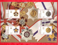 2018 #100 Years Of Czechoslovakia – Orders & Medals Stamp Sheet # Czech Republic