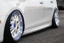 Rld retrasadas faldones sideskirts ABS para VW Polo 6r