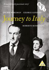 Journey to Italy DVD (2015) Ingrid Bergman, Rossellini (DIR) cert PG ***NEW***