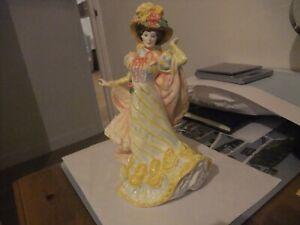 Beautiful Royal Doulton Figurine Primrose  H N 3710 1995 Flowers Of Love