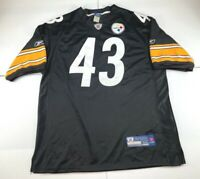 Troy Polamalu Pittsburgh Steelers jersey Reebok sewn Black Yellow Size 54