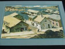 Seaside Original 1950-1969 Art Paintings for sale | eBay