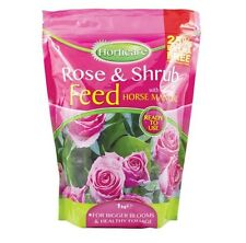 Rose Bush & Shrub Fertiliser Feed Bigger Blooms Healthy Foliage Ready To Use 1Kg