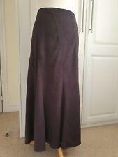 Ladies Dark Grape M&S Midi Skirt SIZE 20