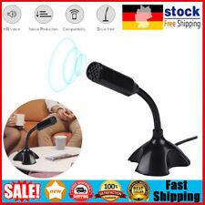 USB-Tischmikrofon Mikrofon mit Ständer für Computer PC Live Streaming Studio