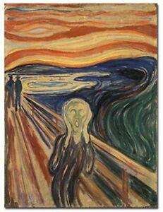 New Listing5D Diamond Painting The Scream by Edward Munch Canvas Wall Art 15x20cm