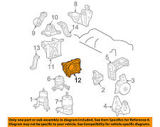 TOYOTA OEM-Engine Motor Mount 1231520020