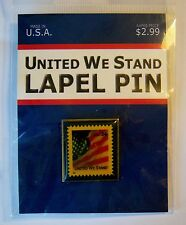 USPS 34 Cent United We Stand Postage Stamp Lapel Pin