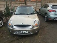 Mini Cooper 1.6 petrol spares or repair