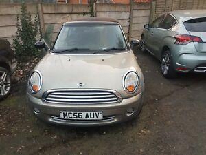Mini Cooper 1.6 petrol spares or repair
