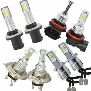 2X H8 H11 9005 9006 LED Fog Light Lamp Bulb Bulbs 6000K 200W 1200LM