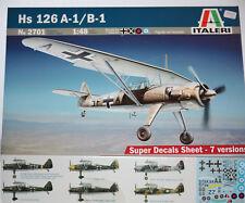 Italeri Avion Hs 126 A-1/B-1 1/48 2701