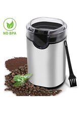 Electric Coffee Stainless Steel Blades Grinder Bean 150W Spices Herbs Nuts New