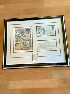 NY YANKEES BABE RUTH SIGNED BY DAUGHTER LTD ED. SULTAN OF SWAT BASEBALL COLLAGE