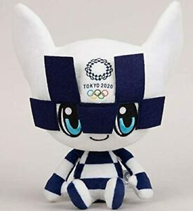 TOKYO Olympic 2020 Mascott MIRAITOWA Plush Doll official  Licensed  from Japan