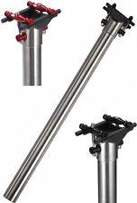 J&L Ultra Light Titanium Seatpost+ Carbon Cradle 27.2/31.6*400mm-Fit Oval Rails
