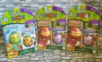 LeapFrog RockIt Twist Lot of 3 Game Packs! (6 Total) Trolls Dinosaurs & Animals