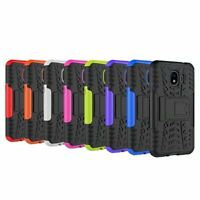 Rugged Hybrid Armor Shockproof Case Stand Cover For Samsung Galaxy J2 Pro 2018