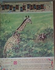 TUTTE LE FIABE DELLA NONNA -LA GIRAFFA- RIVISTA DEL 1962- ANNO 1 N.7  PER BIMBI