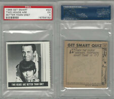 1966 Topps, Get Smart, #22 Two Heads Are Better, PSA 5 EX