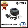 Zebra GK420D 203DPI Thermal Barcode Shopping Docket Printer USB Interface