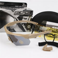ESS Crossbow Ballistic Goggles Tactical Military TR90 Polarized Sunglasses Kit 3