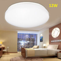 Deckenlampe LED 12W Bad-Lampen IP44 Badezimmer-Leuchte 6000K Deckenleuchte 230V
