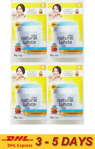 4 x OLAY NATURAL WHITE HEALTHY ALL IN ONE FAIRNESS DAY CREAM SPF24 nourish 50g