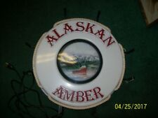 Alaskan Amber Lighted Sign