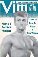 Vim June 1954 Vol.1 No.2, Vintage Male Beefcake Magazine
