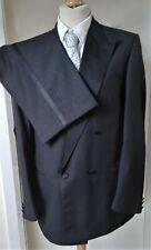 Bruno Kirches Tuxedo Dinner Suit Mens Size 42 Jacket Trousers 36W 33L Black
