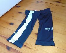 Genuine Sugoi,Norco MidZero Thermal Knee Warmers, Black/White, Medium, Brand New