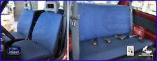 Coprisedili Fiat Panda 4x4 1986>2003 fodere su misura copri sedili rombi blu