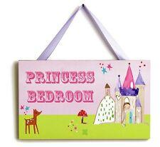GIRLS PRINCESS BEDROOM DOOR SIGN FAIRYTALE CASTLE DOOR SIGN ARTHOUSE 621/5662