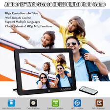 "Andoer 12"" HD Digital Picture Frame 1280X800 Electronic Photo Album MP4 MP3 V9G0"