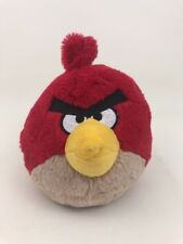 "Angry Birds 9"" Red Character Bird Plush Stuffed Toy  2010 Commonwealth"