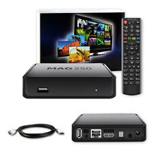 MAG 250 Box Multimedia player Internet TV SET TOP Box IPTV SET TOP USB HDMI HDTV