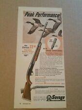 1955 Stevens 77SC Shotgun Magazine Ad Geese Super Choke