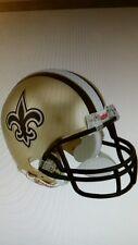 NFL Riddell New Orleans Saints mini helmet.
