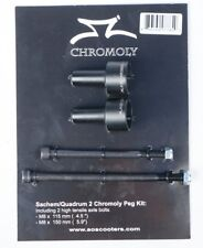 Sachem/Q2 Chromo Scooter Peg Kit Black